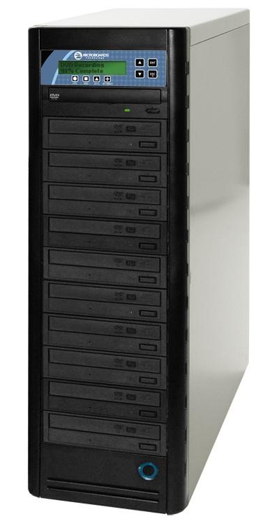 Microboards CopyWriter 10 Drive CD/DVD Tower Duplicator