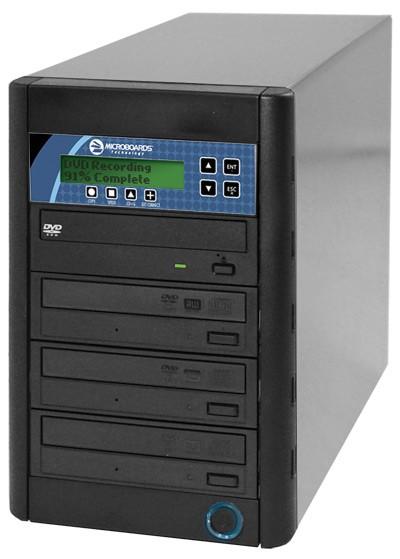 Microboards CopyWriter 3 Drive CD/DVD Tower Duplicator