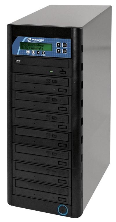 Microboards CopyWriter 7 Drive CD/DVD Tower Duplicator