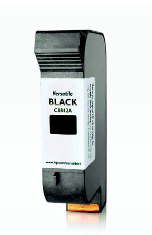 Microboards Print Factory C8842A Black Ink Cartridge 1 pack