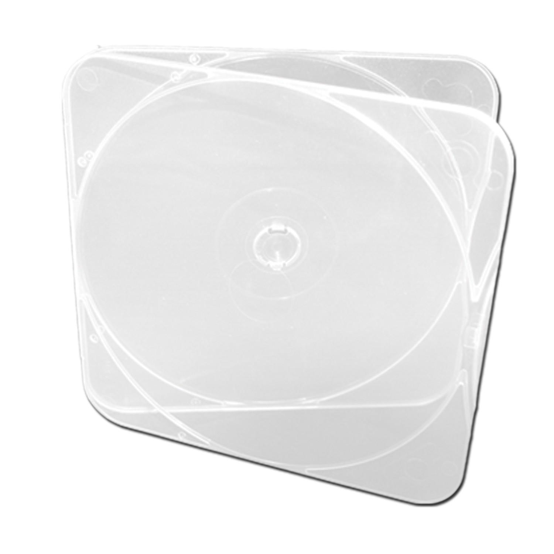 Duraslim CD/DVD Poly Case - 50 pack