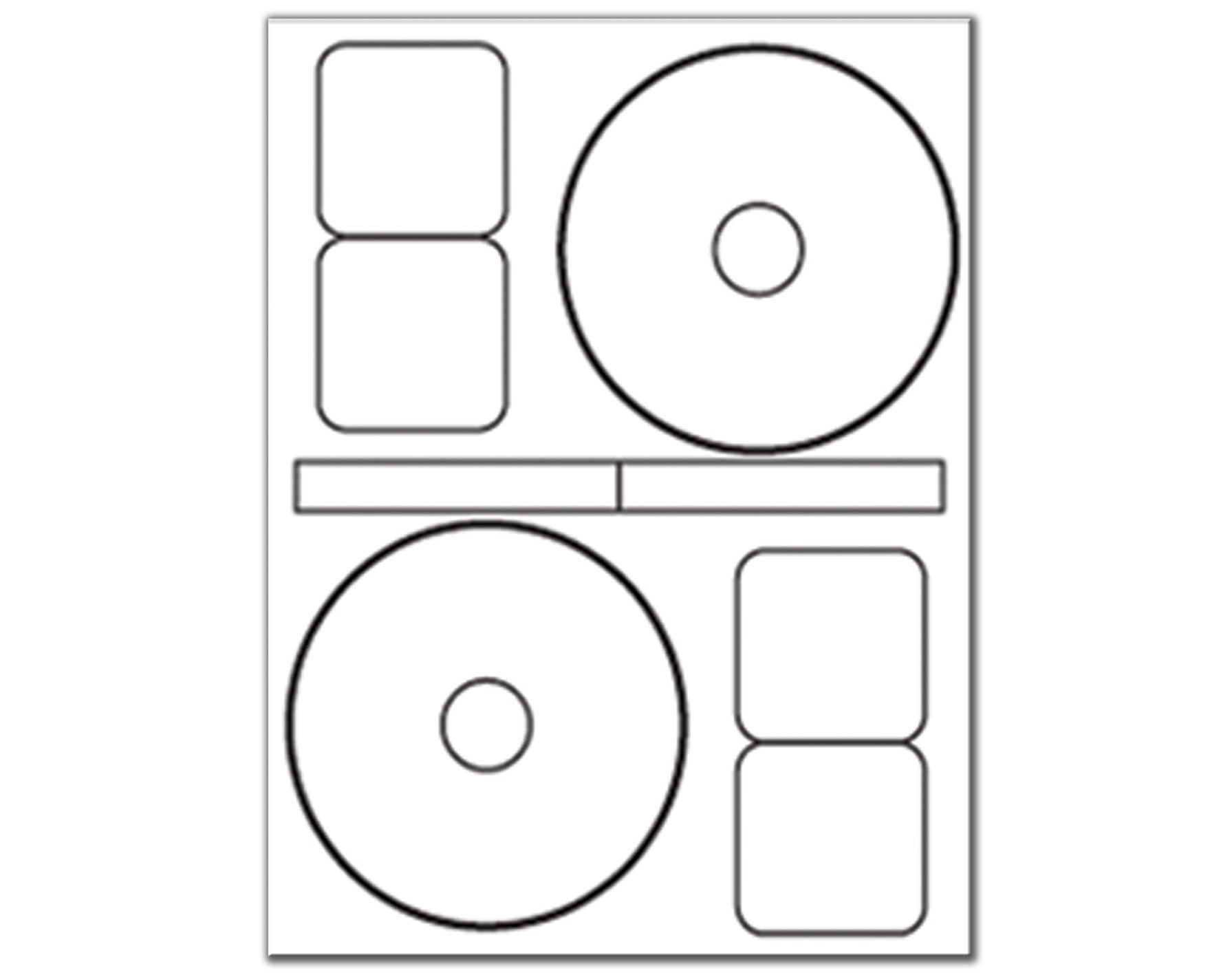 Stomper cd dvd labels 2 up 1 package cd dvd labels for Cd stomper 2 up standard with center labels template