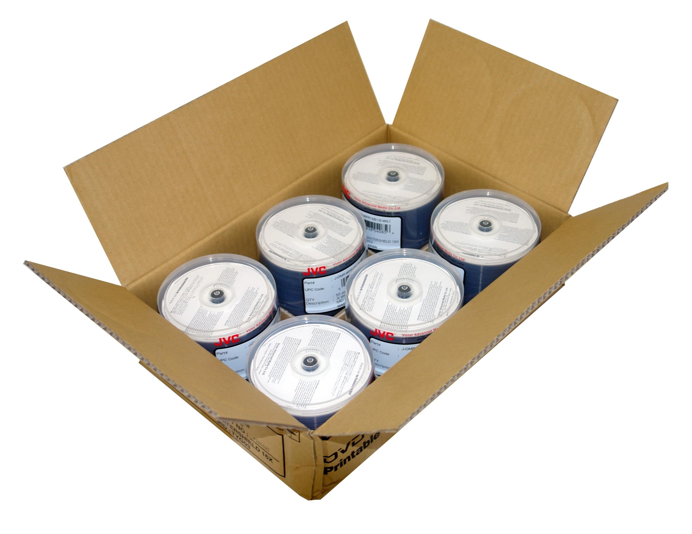 JVC/Taiyo Yuden Watershield DVD-R 16x White - 300 pack