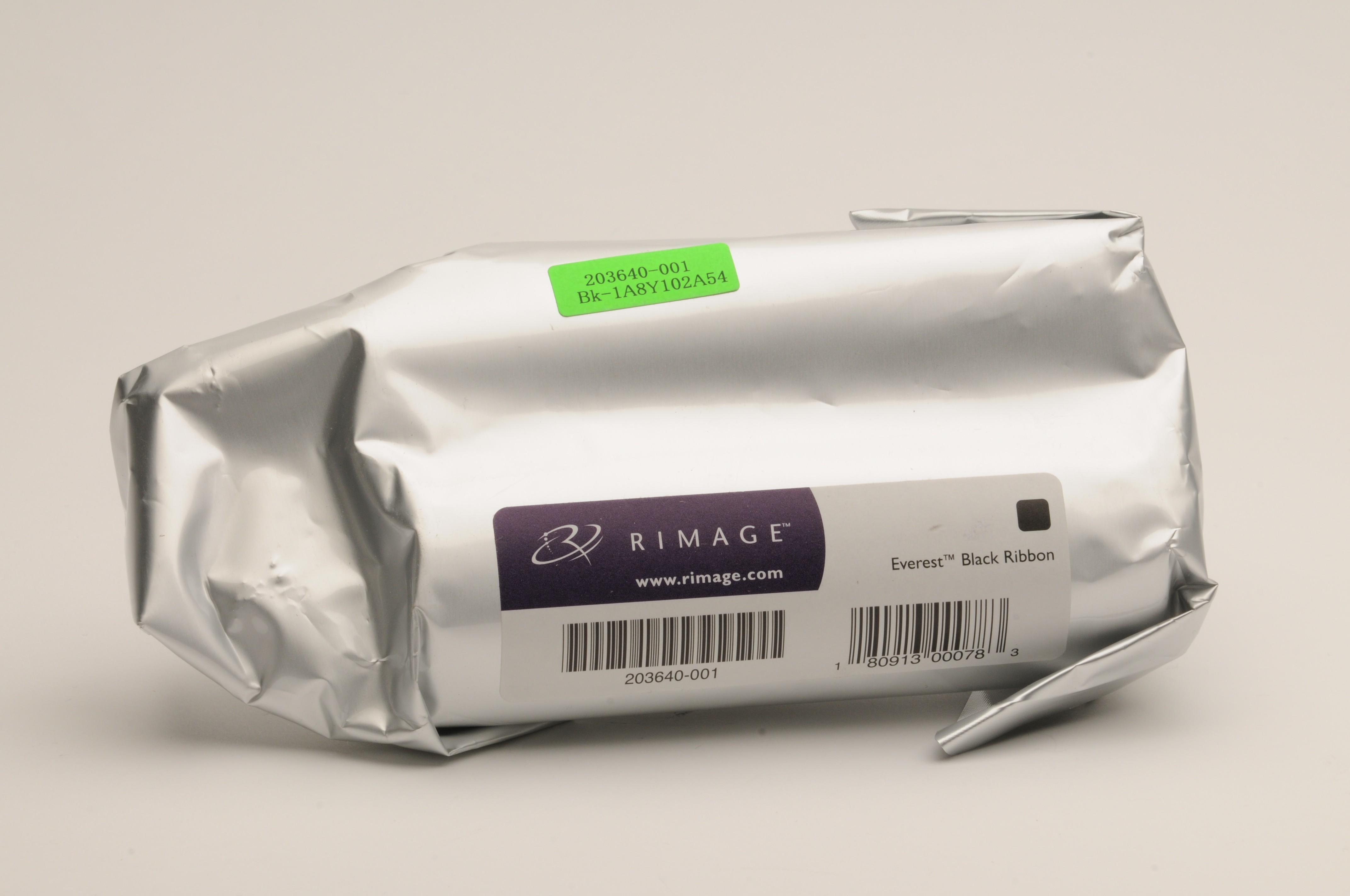Rimage Everest 400/600 Black Ribbon, OEM Ribbon, 2001481