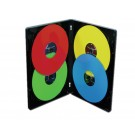 MultiPack 4 CD/DVD Albums Black - 100 pack