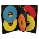 MultiPack 6 CD/DVD Albums Black - 100 pack