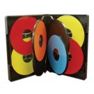 MultiPack 7 CD/DVD Albums Black - 25 pack
