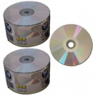 Premium 52X CD-R Silver Shiny Silver 100 pack