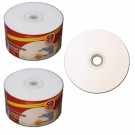 Premium 52X CD-R White Inkjet Hub Printable 100 pack