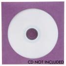CD/DVD Purple Paper Sleeve 500 pack